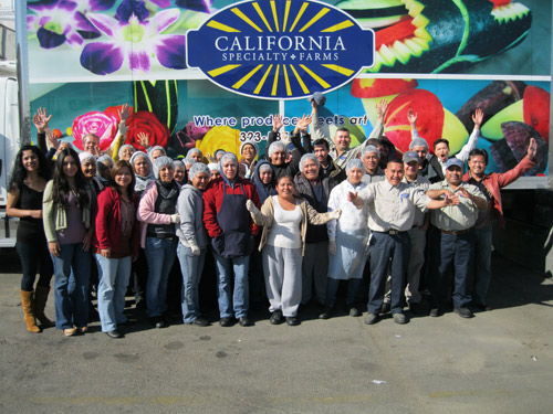 Team California Specialty Farms